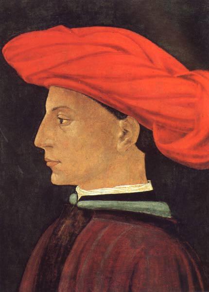 MASACCIO (San Giovanni Valdarno 1401 - Roma 1428), Ritratto di giovane 1423-1425; Boston, Isabella Stewart Gardner Museum